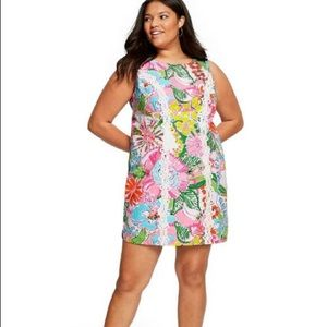 Lilly Pulitzer Dresses - LILLY PULITZER 18W PLUS SIZE Nosey Posie Mini
